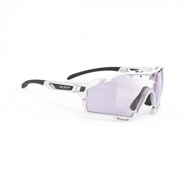 Rudy Project White Gloss - ImpactX Photochromic 2 Laser Purple